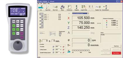 выносной пульт управления MDX-540 и экранная панель