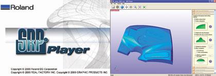 программа Roland SRP Player для механобработки на MDX-540