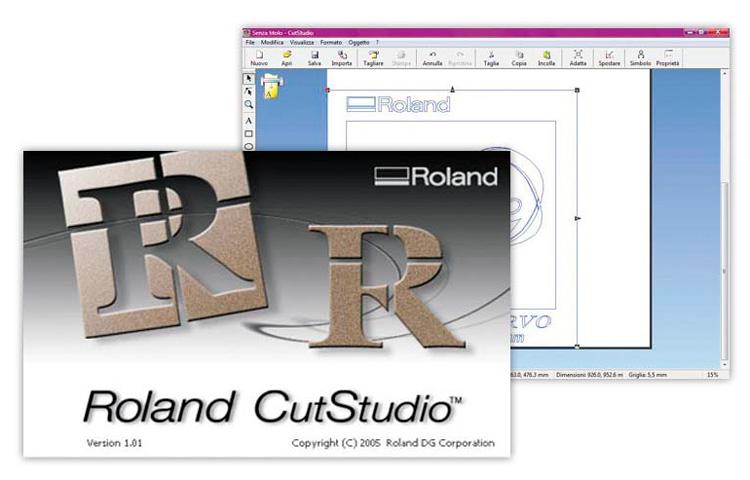 Программа для резки Roland CutStudio