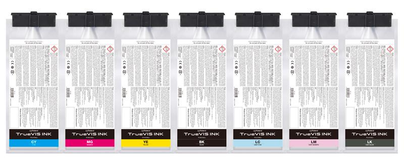 новые чернила Roland чернила TrueVIS ink