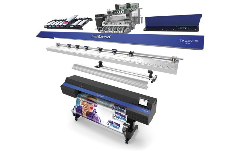 Новый промышленный дизайн сделал плоттер VG-640 и VG-540 существенно жестче